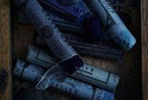 Stylingmenu dark blue