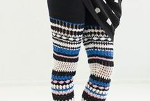 ~ CROCHET cool 2  ~ / Crochet young at heart, fashionable cool, trendy, contemporary, avantgarde, chic, design, catwalk wear,  / by Amina O with ♥ @ postmodern Amina O blog