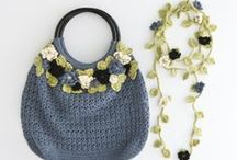 ~ CROCHET bags 2 ~ / by Amina O with ♥ @ postmodern Amina O blog