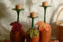 Wine DYI and Crafts / There is no limit to your imagination.