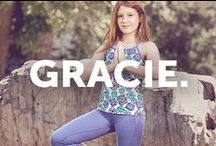 GRACIE. / The latest looks for everyone's favorite girl on the go! / by Soybu