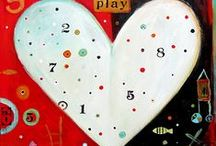 Hearts in Art / Symbolic of love, the heart is a universal icon, and always popular in Image Vault's art-prints and cards.