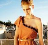SS14 It's All Greek To Me / Womenswear Photography Chris Kontos Hair and Make-up Katerina Mitropoulou Model Niki Trefkova, Ace Models