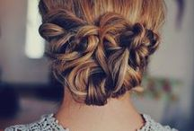 CABELOS / HAIR / Ideias para cortes, penteados e cores de cabelos