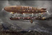vous avez dit STEAMPUNK ? / Initiation à l'univers du steampunk, de la SF & du RETRO-FUTURISME.
