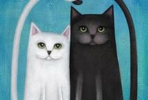 Cats and Dogs / Art that celebrates our furry friends!