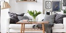 Home & Design / Comfortable, functional and stylish decorating usually in a neutral palette, Scandinavian style, minimalism, whites, bedrooms, entryways, decorating, decor