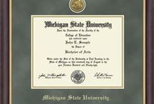 MSU Diploma Frames / These handsome frames are high-quality and perfect for displaying your MSU diploma!