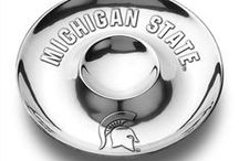 Sparty. Cookin' up a Storm. / Spice things up in the kitchen with Michigan State University themed kitchen accessories.