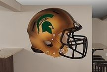 Spartan Fatheads. Yesss. / THESE. ARE. COOL. #michiganstate