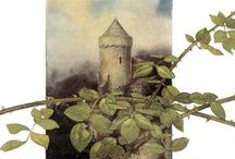 Alan Lee - Castles / Castles by David Day, illustrated by Alan Lee, 1984