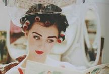 { vintage vixen } / Everything old is new again in the eyes of a pinup.