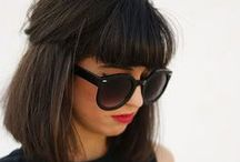 { bang it out } / Betty, brazen or bashful, we love the bangs.