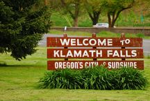 Klamath Falls, Oregon / I lived in K.F. For over 30 yrs.  I loved living there so I thought it would be nice to bring back memories. / by Elaine Skelton Maye
