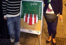 Gijon de sidras / En Gijón la sidra corre a raudales,con canticos de chigre; cazuelinas y todo lo mejor de los asturianos.