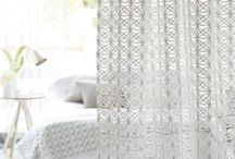 Voiles / Voiles are a great way to soften a window and add some privacy to your home! Use a single design or why not get creative and layer them up in panels?