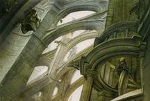 John Howe - Cathedrale