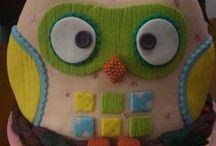 Owls Cakes