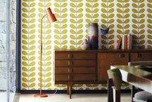 Orla Kiely / Internationally renowned designer Orla Kiely as joined forces with us here at Harlequin to create a striking collection of bold and beautiful non-woven wallpapers.