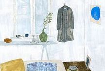 interiors illustration
