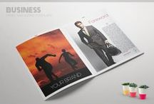 Business Brochures, Magazines / Magazine Templates for Businesses