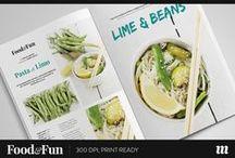 Food & Cook Magazines, Brochures