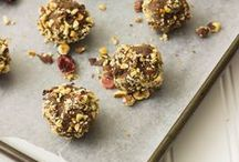 Truffles, No-Bakes and Fudge / truffles, no bake cookies or balls, fudge. Dairy free, naturally sweetened, easy recipes