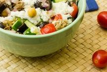 Bowl Style Meals / meals that are all eaten in one bowl. Buddah bowls, Power bowls, Salad bowls, Grain bowls, Veggie bowls