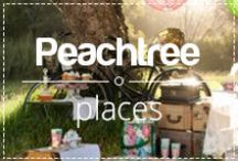 Peachtree places / We love to enjoy a delicious peachy cocktail in different places. A collection of our favorite Peachtree places.