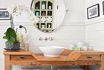 Baños y Cuarto de lavado / Diferentes diseños y colores / by Jenny Paola Contreras Sanhueza