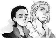 Thor, Loki and Asgard  / Pins for one of my favorite Brother Duos! Featuring on occasion other Asgardians