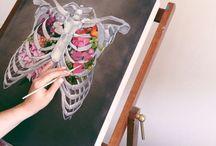 Painting / Amo pintar! Algumas inspirações . . .