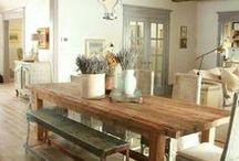 Rustic Farmhouse Spaces