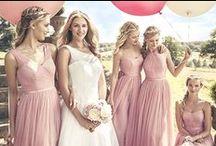 Bridesmaids style / Beautiful bridesmaids styling
