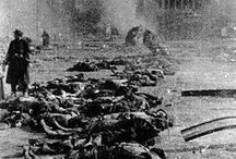 WW2 Allied War Crimes / The major Allies during WW2 namely America, Soviet Russia, Britain and france acted unfairly with the defeated Axis powers, germany Italy and Japan.