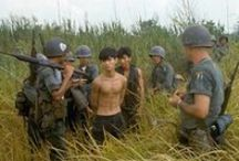 Vietcong NLF / The Vietcong or the NLF- National Liberation Front was a body of South Vietnamese communists who fought the South Vietnam government supported by the USA during the Vietnam War.Its looked to Ho Chi Minh's North Vietnam for guidance and support during the Vietnam War.
