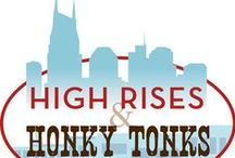 High Rise and Honky Tonks / The DISTRICT is a private 501 (c)(3) non-profit organization dedicated to economic and community revitalization of three historic districts and their contiguous areas in downtown Nashville; Broadway, 2nd Avenue/Riverfront, and Printer's Alley, collectively known as The DISTRICT.