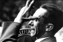 JOSEPH GOEBBELS: Hitler's Men / Joseph Goebbels was perhaps the closest to Adolf Hitler amongst the top Nazi officials. And he remained loyal to the Fuehrer till the very end. He was a master at propaganda. Something like the ancient Indian political theorist Chanakya.