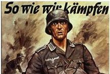 WW2 GERMAN PROPAGANDA POSTERS / During the Second World War posters played a vital role (besides radio of course). Here are a collection of German posters during WW2.