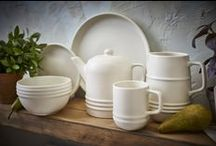 Wilko | Sanctuary Dinnerware / Bring a touch of simple, contemporary style to the dinner table with Wilko's timeless Sanctuary collection.