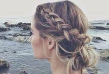 HAIR: plaited styles