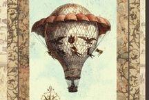 Hot air balloon prints