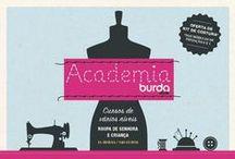 Academia Burda / Cursos de costura Burda style