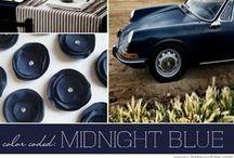 Midnight Blue & Gold - Wedding Trend 2013-2014