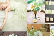 Organic Themed Wedding - Trend 2014