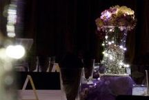 Purple and Lace Wedding / An industrial reception space sprinkled with gorgeous purple hydrangeas and vintage lace certainly made this a night to remember!