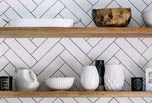Kitchen decor ideas / Chic and stylish kitchen decor and storage ideas.