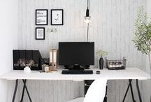 W O R K | S P A C E S / Ideas and wants for the new office!