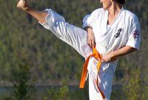 Karate og trening. / Kyokushin Karate