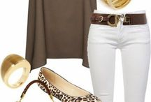 Spring outfit / Love this outfit, would change to silver jewellery though, and a different coloured top & bag.